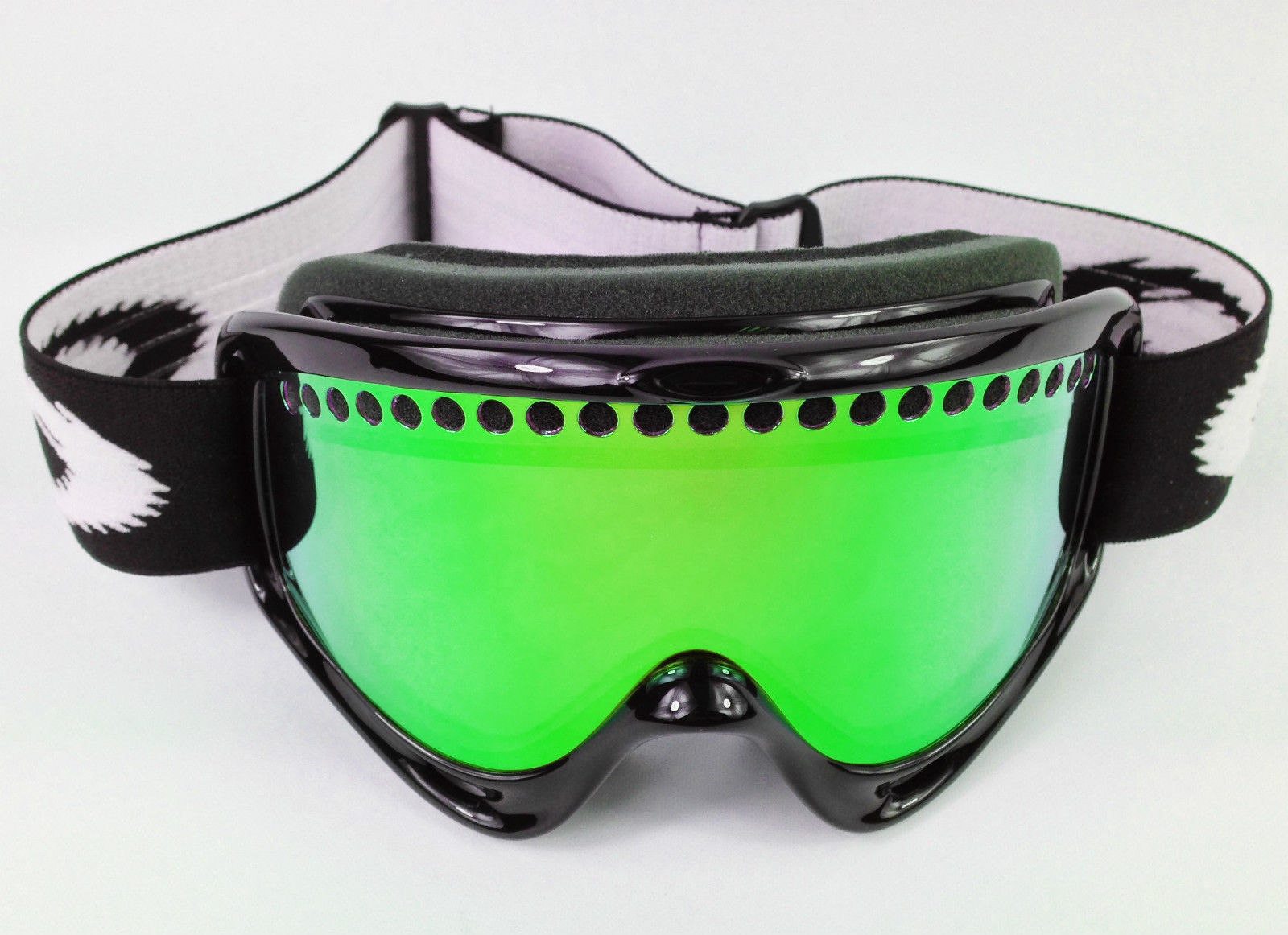 REPLACEMENT GS GREEN MIRROR DUAL VENTED SNOW SKI LENS fits OAKLEY O ...