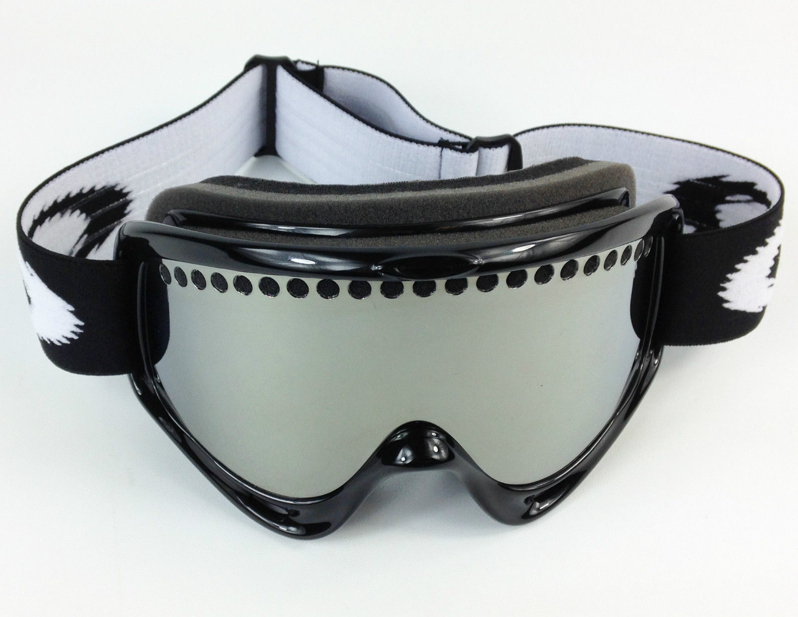REPLACEMENT GS SILVER MIRROR DUAL VENTED SNOW SKI LENS fit OAKLEY O ...
