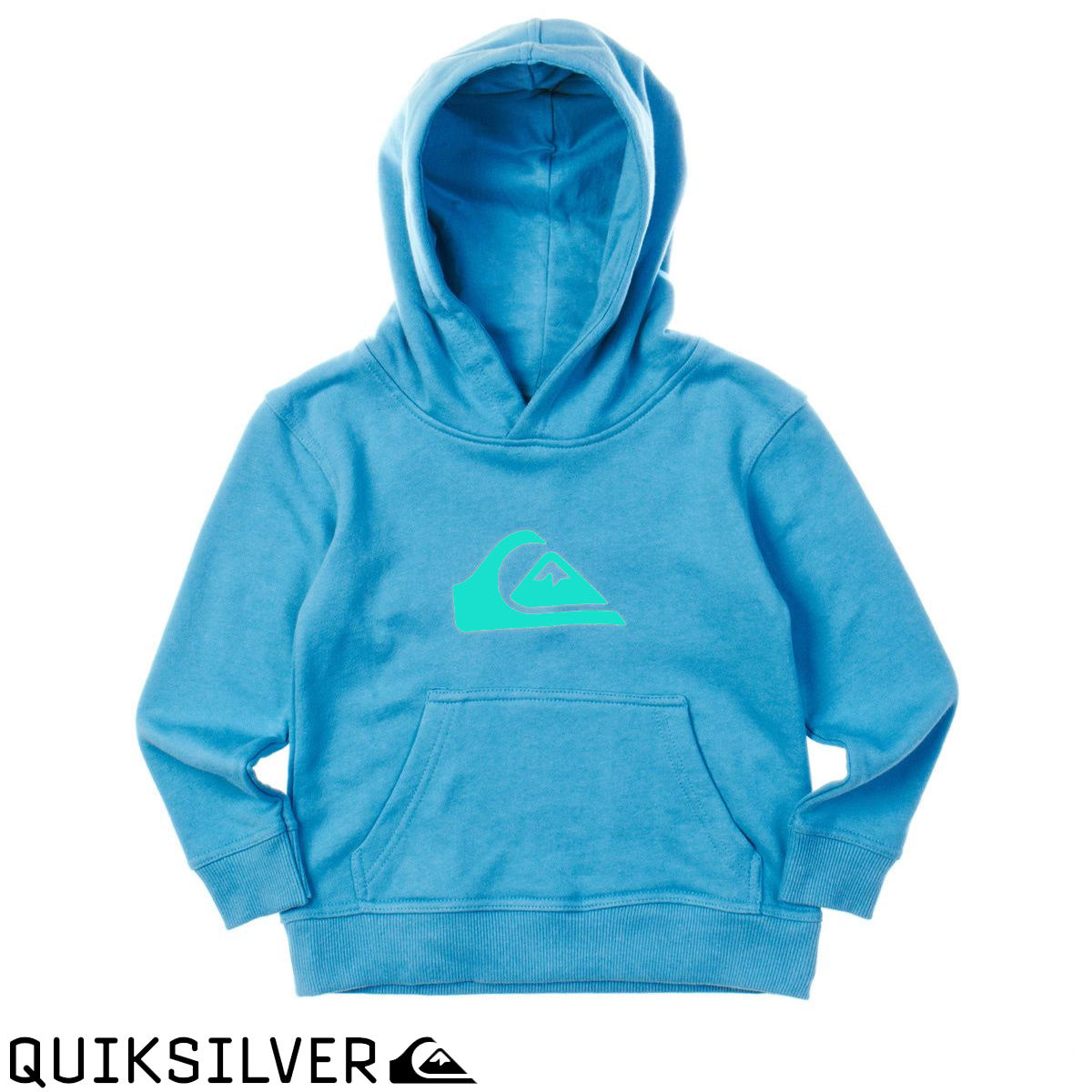 6951496d04 'Quiksilver Kids / Childrens Mountain and Waves PO Hoodie Blue Jay surf  youth'