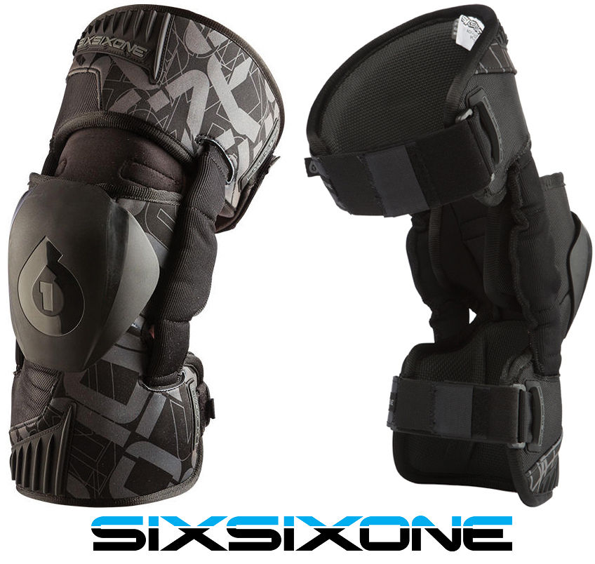 Mx Knee Braces >> 661 Sixsixone Rage Motocross Mx Knee Braces