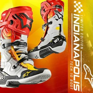 ALPINESTAR TECH 10 MOTOCROSS MX ENDURO BIKE BOOTS – LIMITED EDITION INDIANAPOLIS