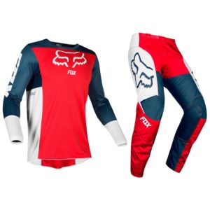 Fox Navy Red 180 Motocross Kit