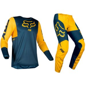 Fox Navy Yellow 180 Motocross Kit
