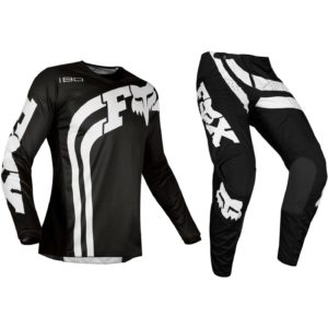 Fox Youth Cota Black 180 Motocross Kit
