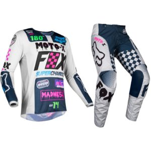 Fox Youth Czar Grey 180 Motocross Kit