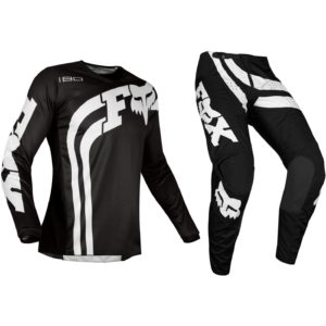 Fox Black 180 Motocross Kit