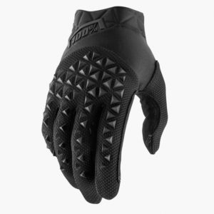 2019 YOUTH 100% AIRMATIC MOTOCROSS MX GLOVES BLACK / CHARCOAL mtb kids quad bike
