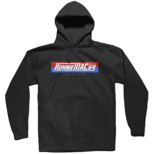 Ronnie Mac 69 RWB Premium PO Hoodie Black - official licensed mx motocross