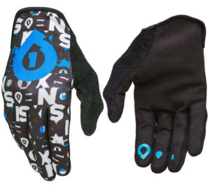 'MEN''S 661 COMP REPEATER MTB CYCLE BIKE BMX GLOVES BLACK / CYAN X-LARGE XL 11'
