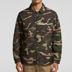 Ronnie Mac 69 Coach Jacket Premium Camo - official licensed mx motocross