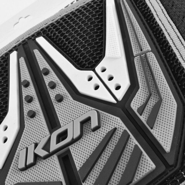 IKON YOUTH KIDNEY BELT MOTOCROSS bike back protector NEW BLACK GREY MX KIDS