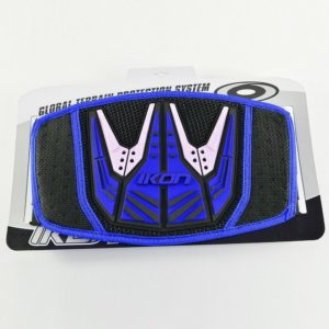 IKON YOUTH KIDNEY BELT MOTOCROSS bike back protector NEW BLUE BLACK MX KIDS
