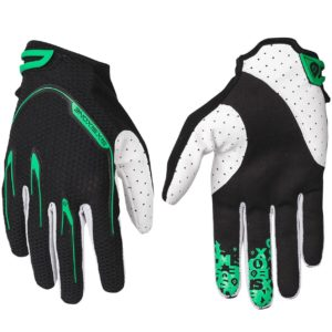 MENS 661 RECON MTB MOTOCROSS MX CYCLE BIKE GLOVES BLACK / GREEN