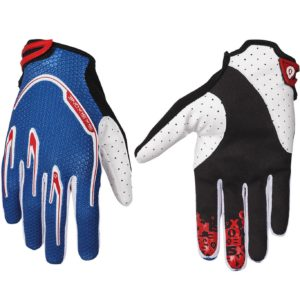 MENS 661 RECON MTB MOTOCROSS MX CYCLE BIKE GLOVES BLUE