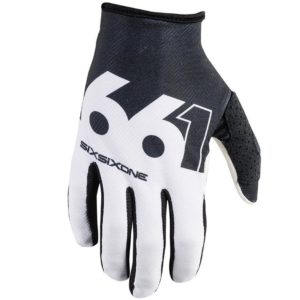 MENS 661 COMP SLICE MTB MOTOCROSS MX CYCLE BIKE GLOVES BLACK / WHITE