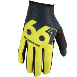 MENS 661 COMP SLICE MTB MOTOCROSS MX CYCLE BIKE GLOVES CHARTREUSE / BLACK