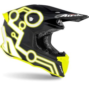 2020 AIROH TWIST 2.0 MOTOCROSS MX ENDURO OFF-ROAD BIKE HELMET – NEON YELLOW MATT