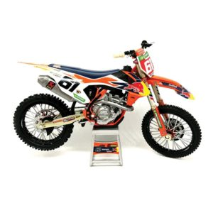 Jorge Prado Red Bull KTM 450 SX-F 1:12 – Toy Motocross Bike