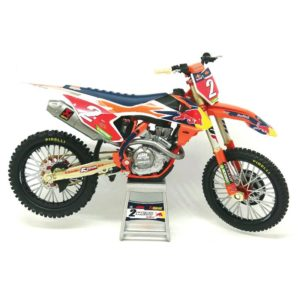 Cooper Webb Red Bull KTM 450 SX-F 1:12 – Motocross Toy Bike