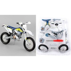 HUSQVARNA FE 501 1:12 – MOTOCROSS ASSEMBLY LINE TOY KIT