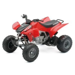 HONDA TRX450R Die-Cast 1:12 – RED TOY QUAD BIKE