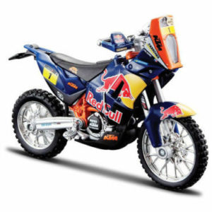 OFFICIAL REDBULL KTM 450 DAKAR RALLY – 1:18 Die-Cast Toy MOTORCYCLE BIKE