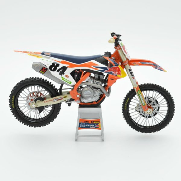Herlings Red Bull KTM 450 SX-F 1:12 Motocross Mx Toy Model Bike New Ray 2019