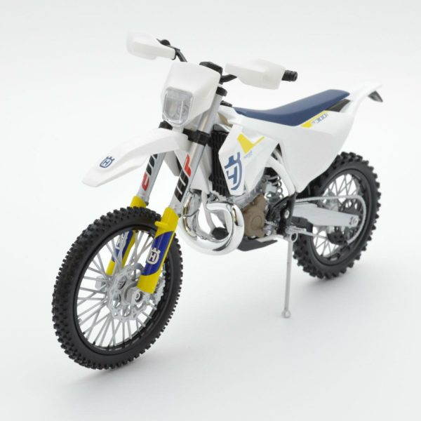 Husqvarna TEI 300 2-STROKE 1:12 Motocross Enduro Mx Toy Model Bike New Ray 2019