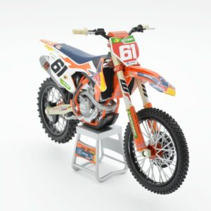 Jorge Prado Red Bull KTM 450 SX-F 1:12 Motocross Mx Toy Model Bike New Ray 2019