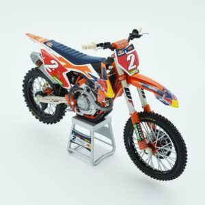 Cooper Webb Bull KTM 450 SX-F 1:12 Motocross Mx Toy Model Bike New Ray 2019