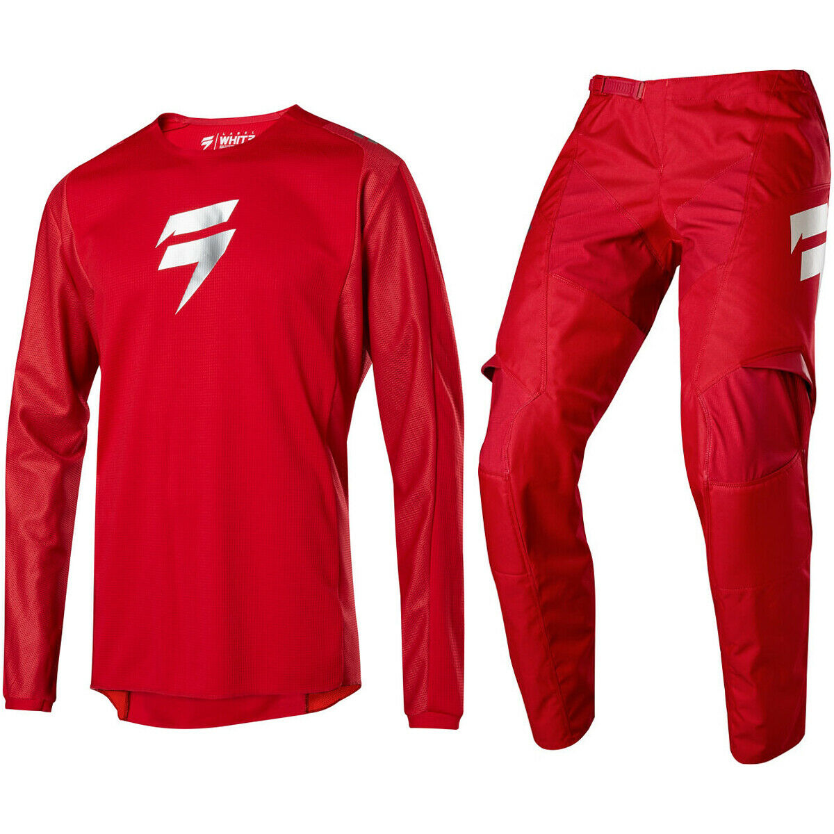 LE Snydicate Clay Grey white Label Motocross Pants Jersey Shift MX Whit3
