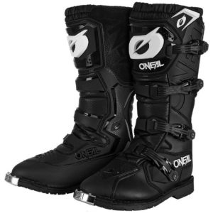 oneal pro rider boots black