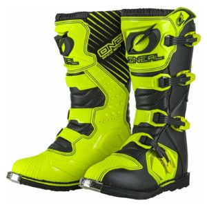 2021 ONEAL RIDER ADULT MOTOCROSS MX BOOTS – NEON YELLOW