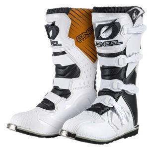 2021 ONEAL RIDER ADULT MOTOCROSS MX BOOTS – WHITE