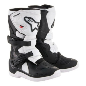 ALPINESTAR TECH 3S KIDS MOTOCROSS MX BIKE BOOTS BLACK / WHITE